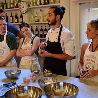 Итальианский кулинарные мастер-классы
