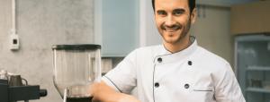 Italian business man chef