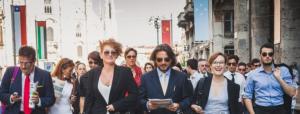 Italian business people